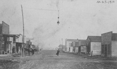 Main street, Linwood, Kansas - Page