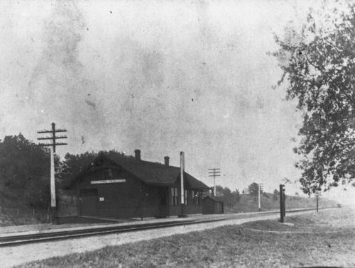 Union Pacific Railroad Company depot, Fall, Kansas - Page