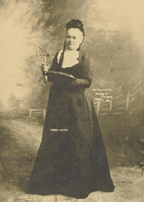 Carry Amelia Nation - Page
