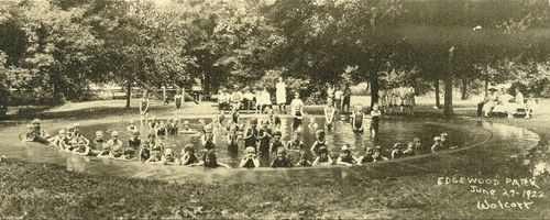 Edgewood Park swimming pool, Topeka, Kansas - Page