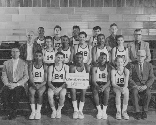 East Topeka Junior High School basketball team, Topeka, Kansas - Page