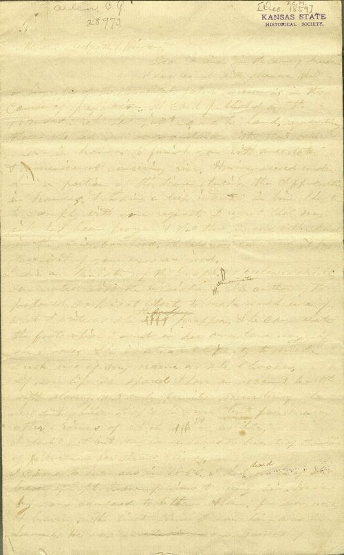 C. G. Allen's response to Redpath and Hinton's call for information about John Brown - Page