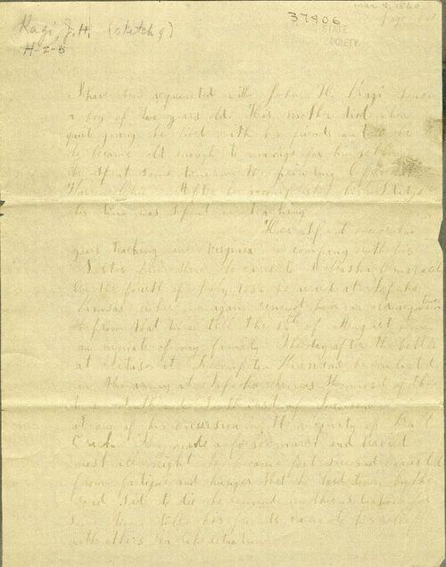 Description of J. H. Kagi by E. R. Moffet - Page