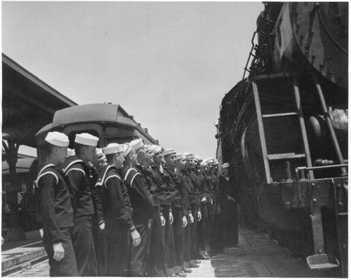 Navy trainees, Newton, Kansas - Page
