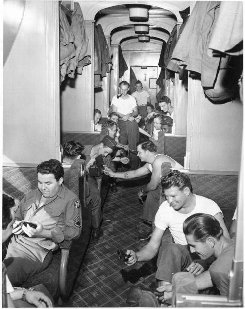 Atchison, Topeka & Santa Fe Railway Company's passenger car, Camp Haan, California - Page