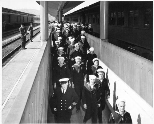 Atchison, Topeka & Santa Fe Railway Company train, Los Angeles, California - Page
