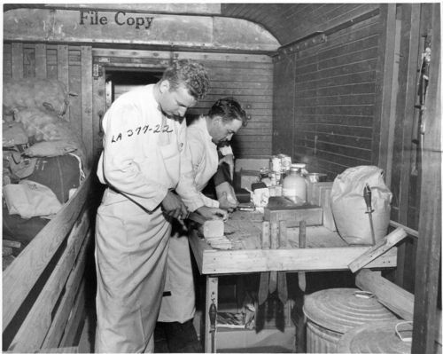 Atchison, Topeka & Santa Fe Railway Company's military train - Page