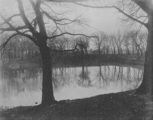 Lake on the old Bismarck Grove fairgrounds near Lawrence, Kansas - Page