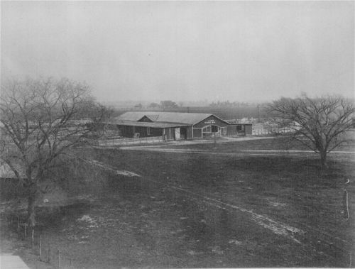 Livestock barn at Bismarck Grove, Kansas - Page