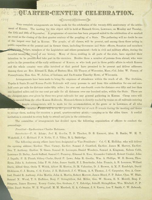 Quarter-century celebration - Page