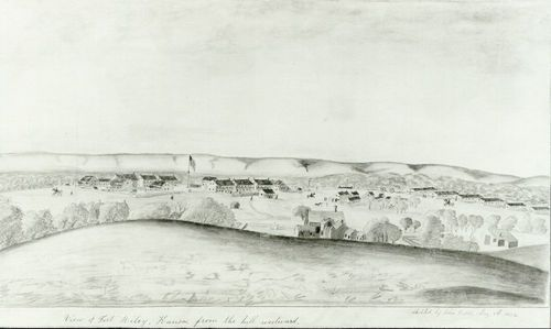 View of Fort Riley, Kansas, from the hill westward - Page