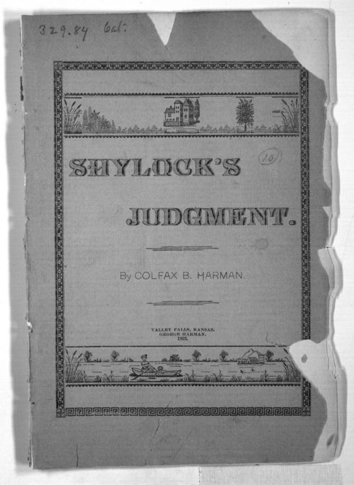 Shylock's Judgment - Page