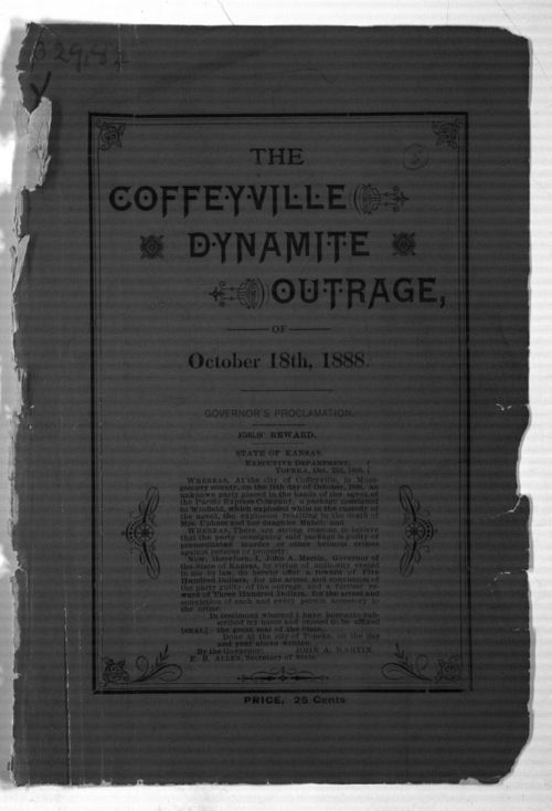 The Plot Unfolded! Or a History of the Famous Coffeyville Dynamite Outrage, October 18, 1888. - Page