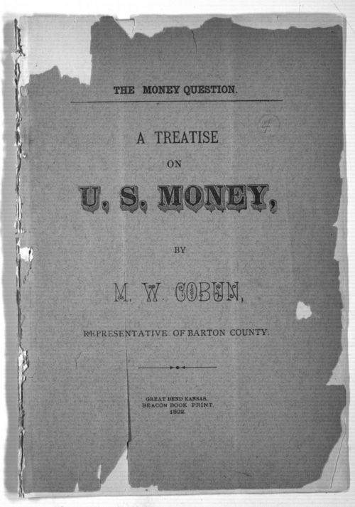 The money question:  A treatise on U. S. money - Page