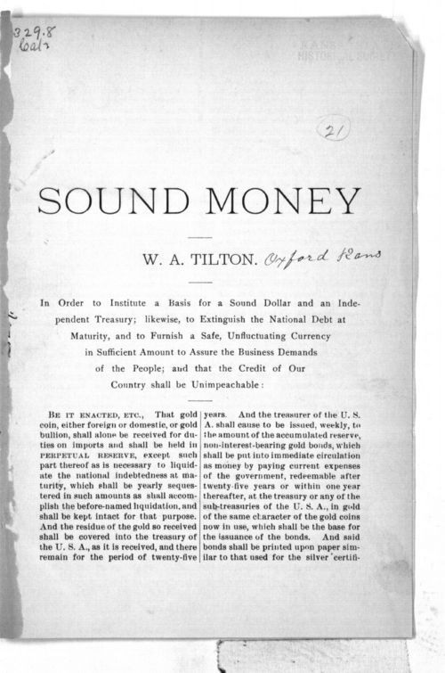Sound Money - Page