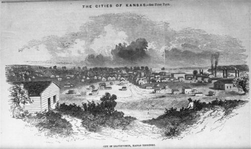 City of Leavenworth, Kansas Territory - Page