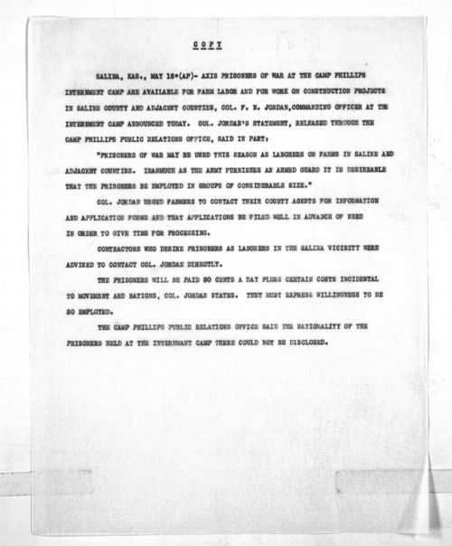 Governor Andrew F. Schoeppel public notice - Page