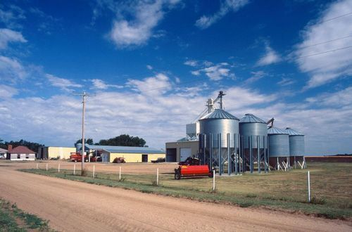 Farm structures and equipment, Kingman, Kansas - Page