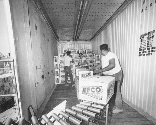 Loading boxes of Efco lettuce - Page