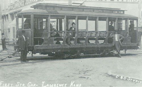 First street car, Lawrence, Kansas - Page