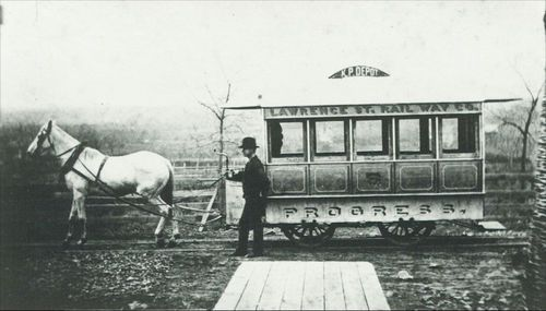 Horse drawn trolley - Page