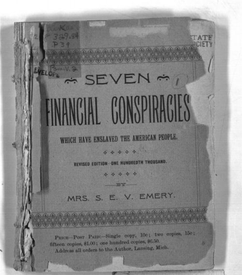 Seven Financial Conspiracies Which Have Enslaved the American People - Page