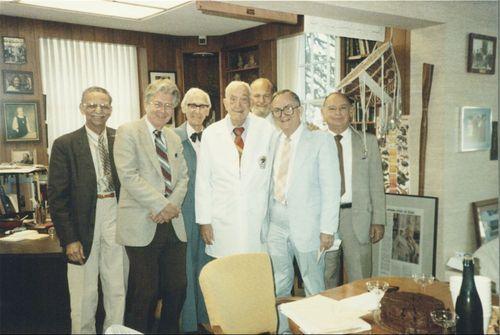 Karl Augustus Menninger with staff - Page