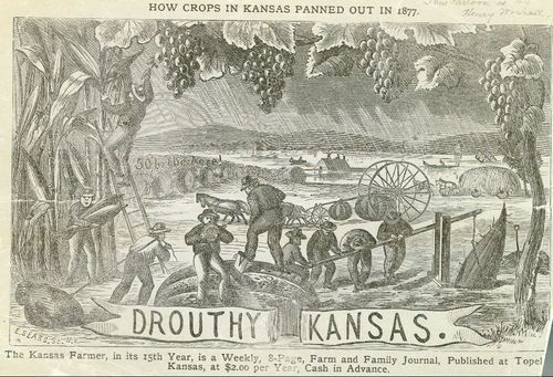 Drouthy Kansas, How Crops In Kansas Panned Out In 1877 - Page