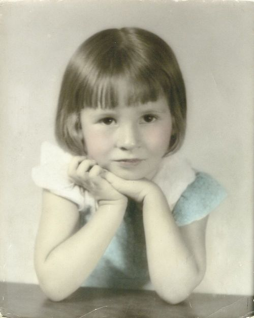Marijana Grisnik as a young child. - Page
