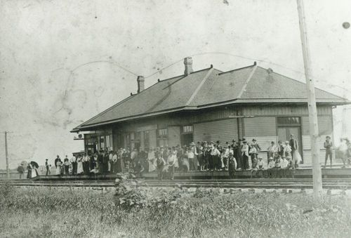 Chicago,Rock Island & Pacific Railroad depot, Clyde, Kansas - Page