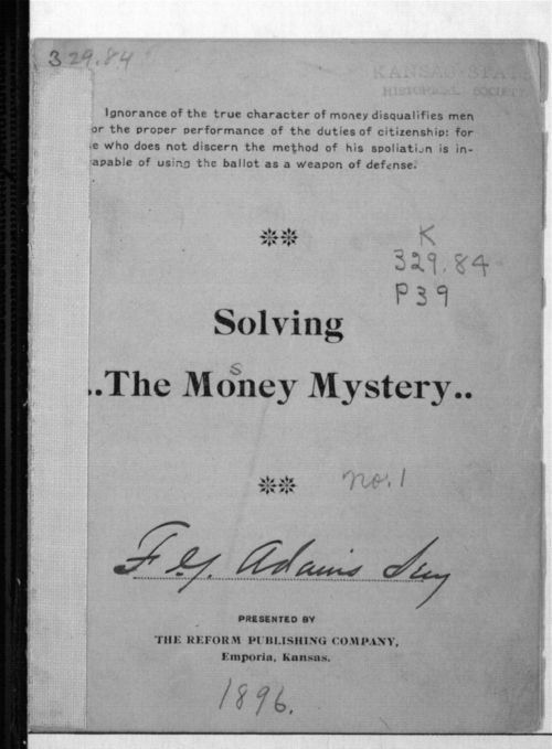 Solving the Money Mystery - Page