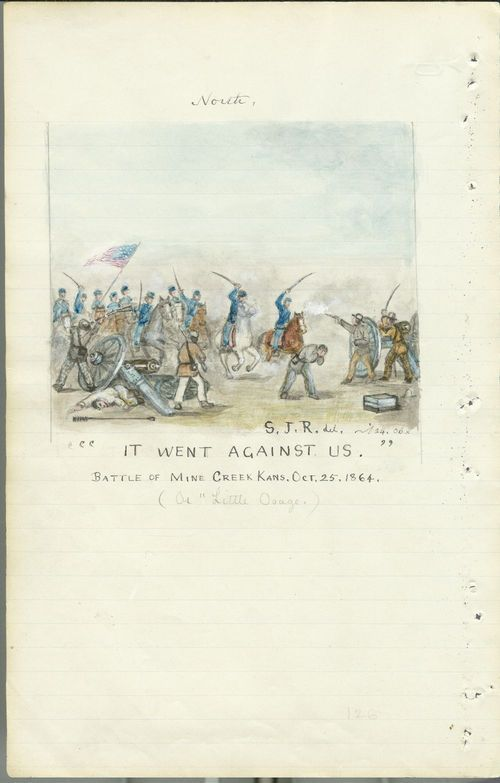 It went against us, the Battle of Mine Creek - Page