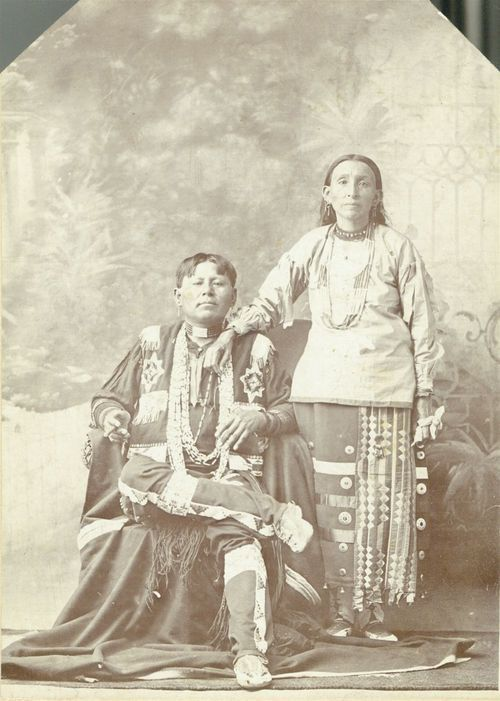 Josiah Reece and wife - Page