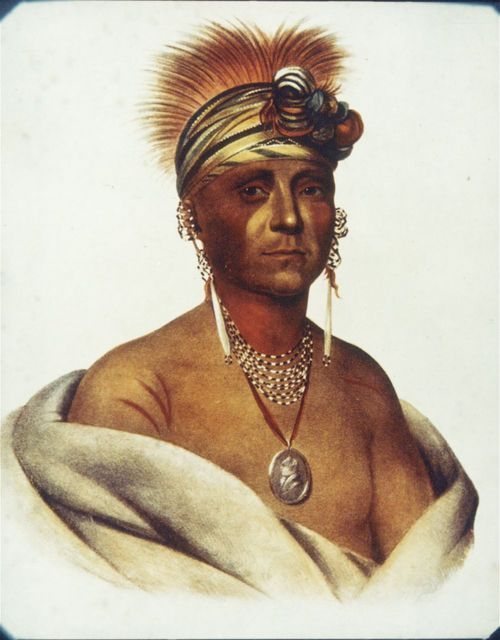 Mon-Chonsia or White Plume, Kansa Chief - Page