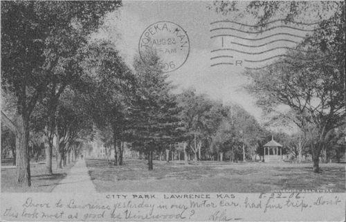 City Park, Lawrence, Kansas - Page