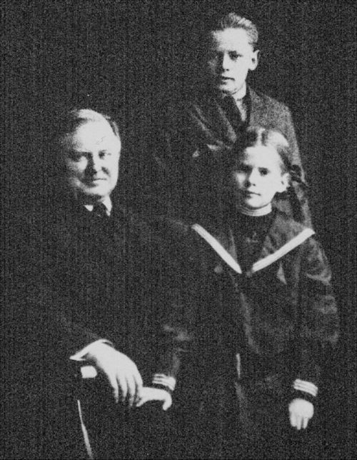William Allen White with Bill and Mary. - Page