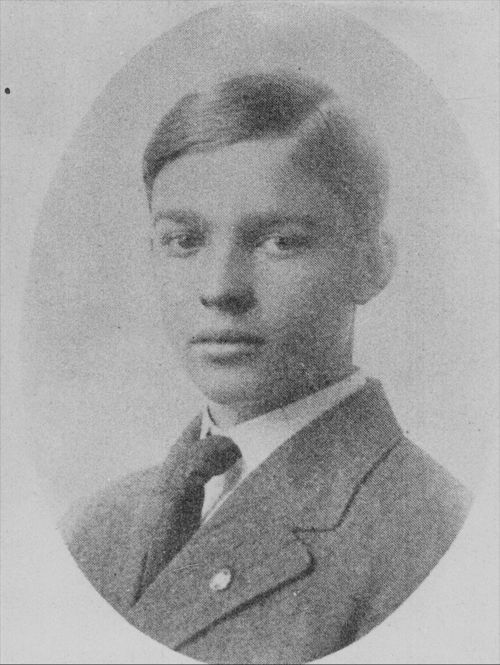 Dwight David Eisenhower, as a senior at Abilene High School - Page