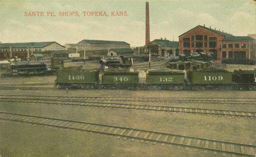 Atchison, Topeka & Santa Fe Railroad shops - Page