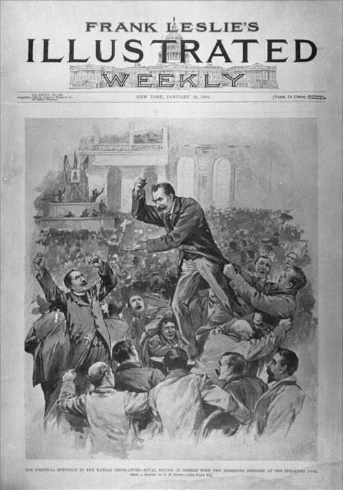 Political struggle in the Kansas legislature - Page