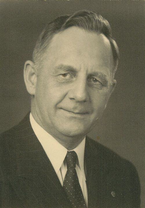 Portrait of Frank Carlson, Kansas Governor, 1947-1950