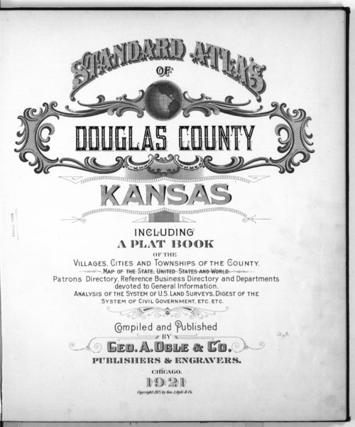 Standard atlas of Douglas County, Kansas - Page