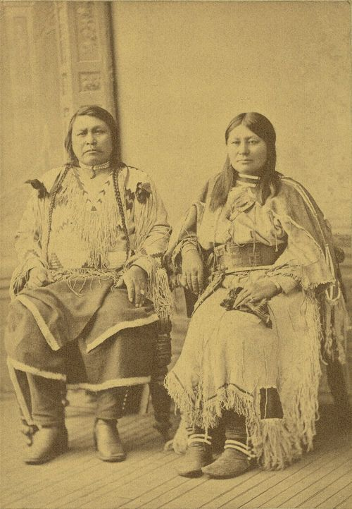 Ouray, Ute Indian Chief, and his wife - Page
