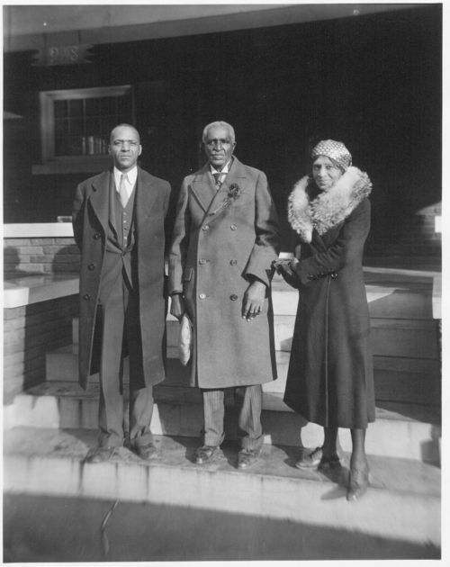 George Washington Carver and Dr. and Mrs. M. L. Ross - Page