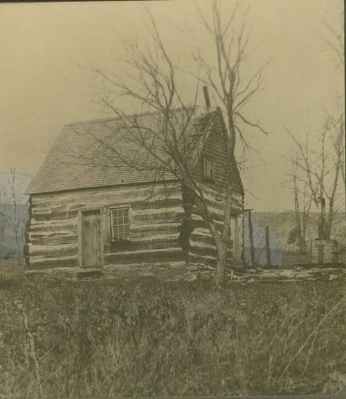 Log cabin of Joseph Gardner - Page