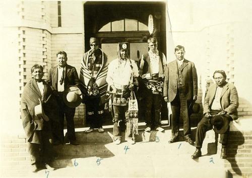 Band of Kansa men - Page