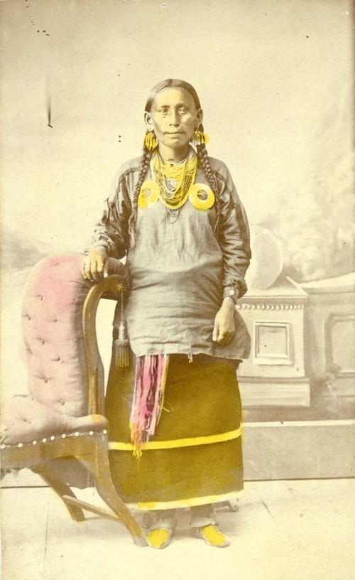 Kansa woman - Page