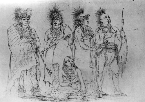 Group of Kansa Indians - Page
