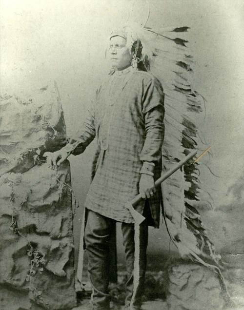 Eagle Plume, Kansa Indian - Page