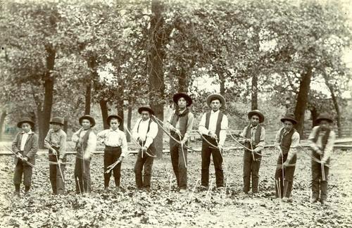 Kansa Indian school boys - Page