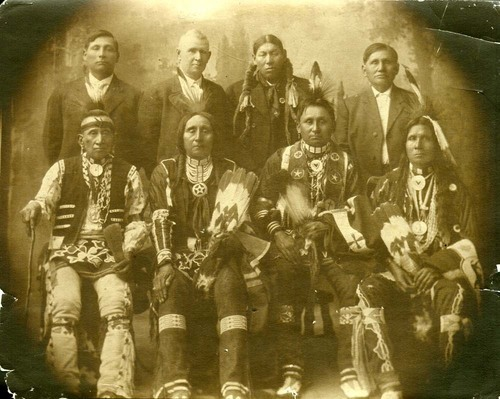 Kansa Indian delegation to Washington, D.C. - Page
